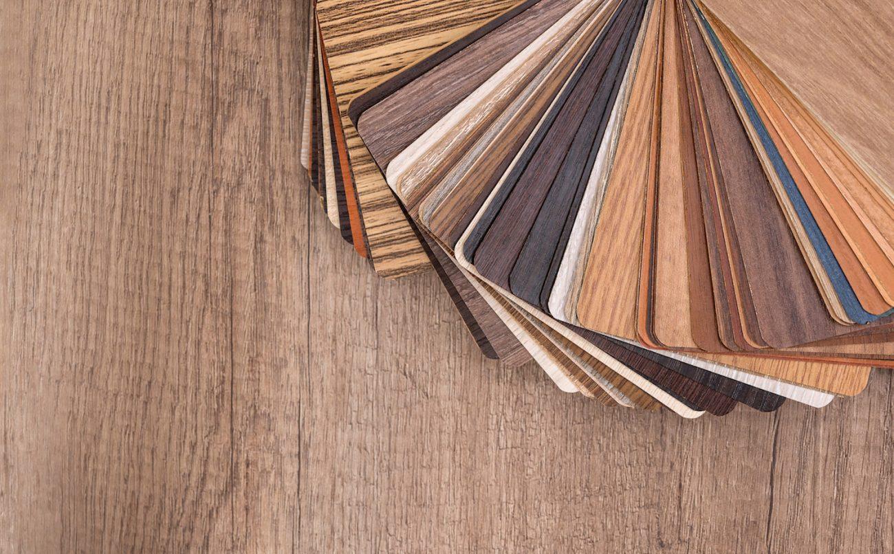 Essenze e finiture per legno