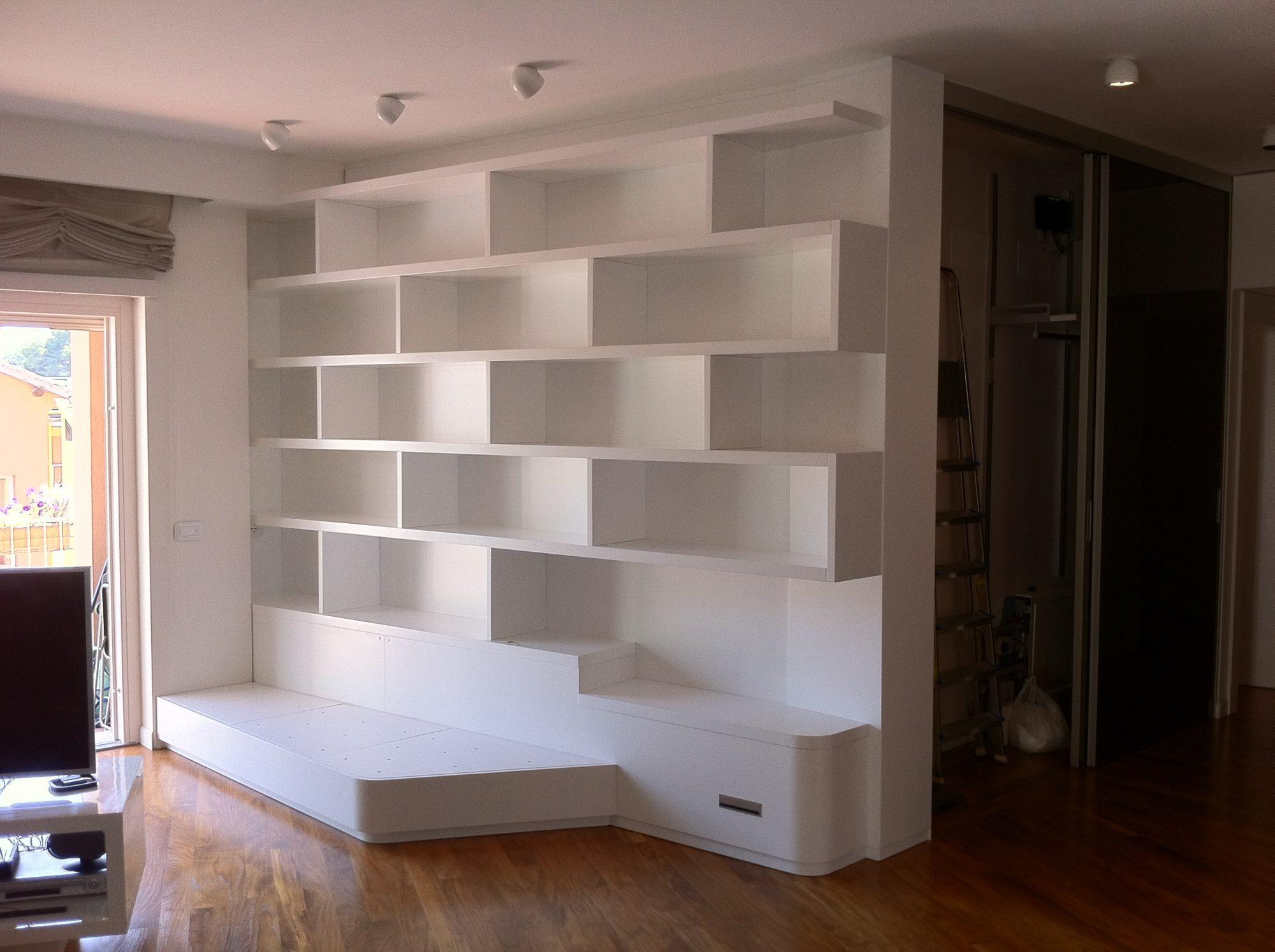 Prezzo Libreria Su Misura.Librerie Su Misura Roma Bucefalo Arredamenti