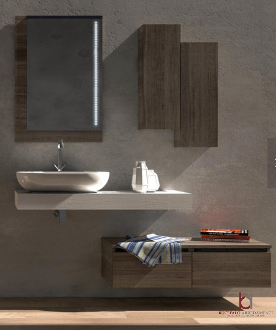 Mobili bagno su misura online bucefalo arredamenti - Arredo bagno in legno ...